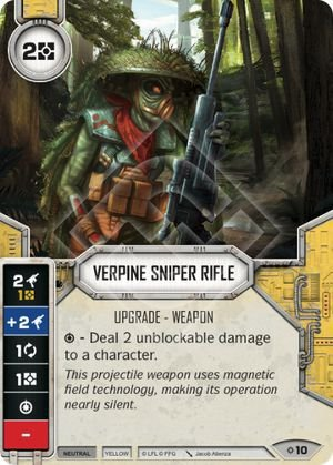 SW Destiny - Verpine Sniper Rifle