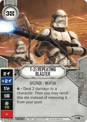 SW Destiny - T-21 Repeating Blaster