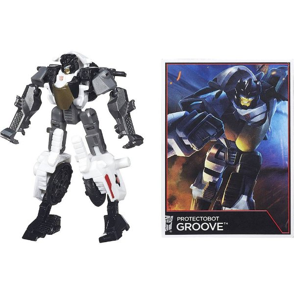 Boneco Transformers Generation Legends - Protectobot Groove - Hasbro