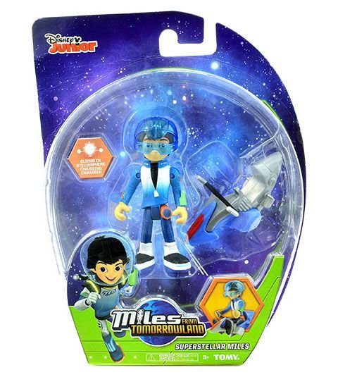 Miles do Amanhã - Figura Básica Superstellar Miles