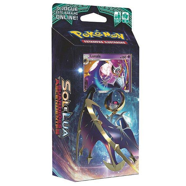 Pokémon Deck Sol E Lua - Guardiões Ascendentes Lunala