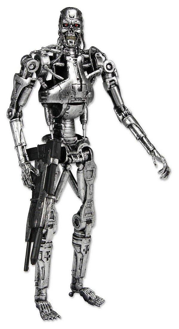 Exterminador Do Futuro - Terminator Endoskeleton - Neca