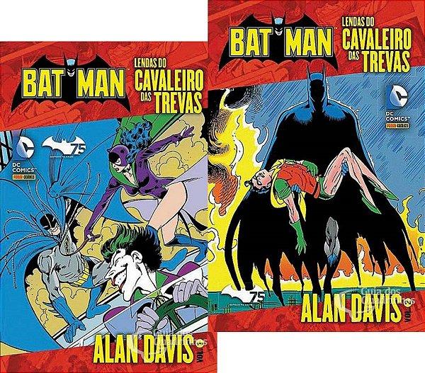 Batman Lendas Do Cavaleiro Das Trevas - Alan Davis 1 e 2