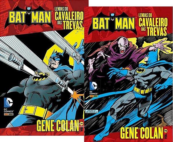 Batman Lendas Do Cavaleiro Das Trevas - Gene Colan 1 e 2