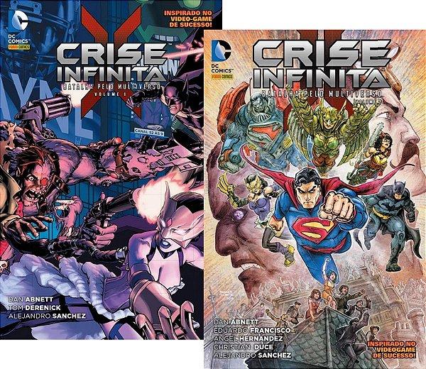 Panini - Crise Infinita - Batalha Pelo Multiverso 1 e 2