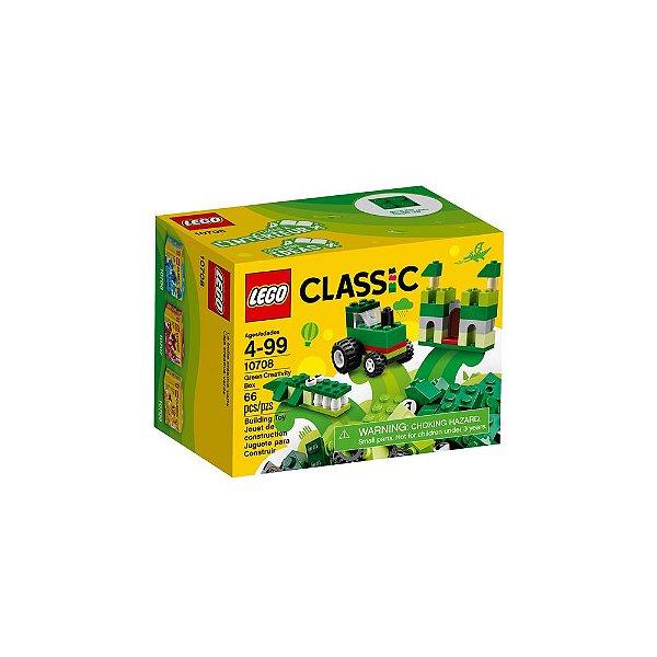 Lego Classic - Caixa De Criatividade Verde 10708
