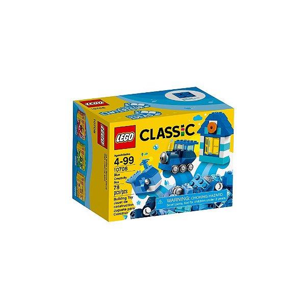 Lego Classic - Caixa De Criatividade Azul 10706