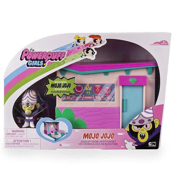 Meninas Super Poderosas Mini Playset Macaco Louco