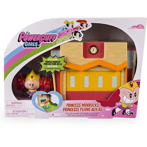 Meninas Super Poderosas Mini Playset Escola com Vilã
