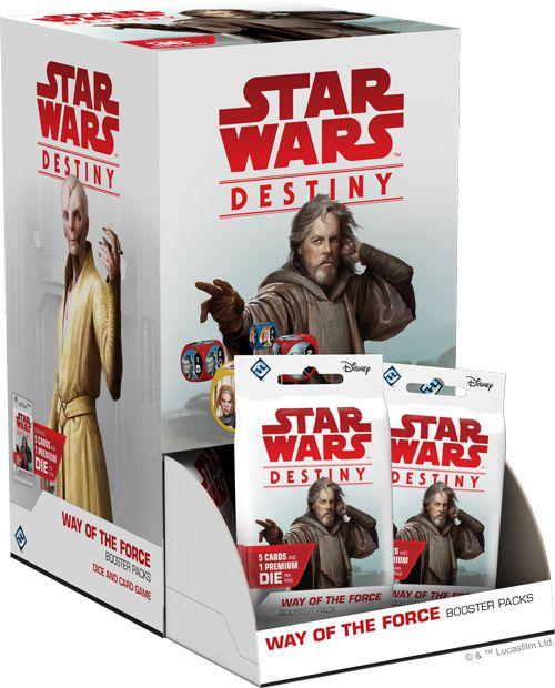 Jogo Star Wars Destiny Pacotes de Expansão - Box O Caminho da Força c/36