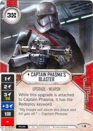 SW Destiny - Captain Phasma's Blaster