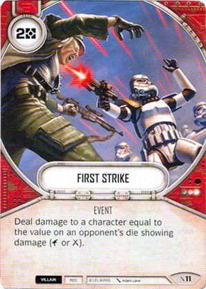 SW Destiny - First Strike