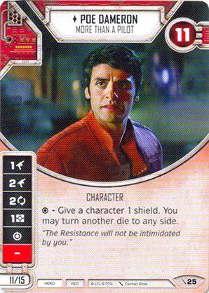 SW Destiny - Poe Dameron More Than A Pilot