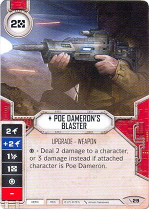 SW Destiny - Poe Dameron's Blaster
