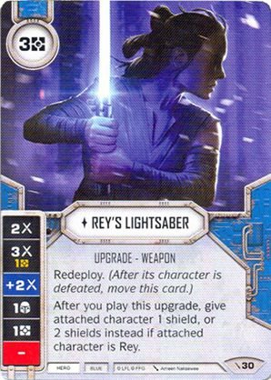 SW Destiny - Rey's Lightsaber