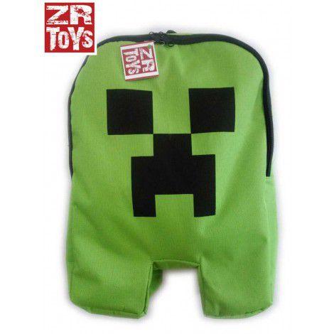 Mochila Minecraft Original - Creeper