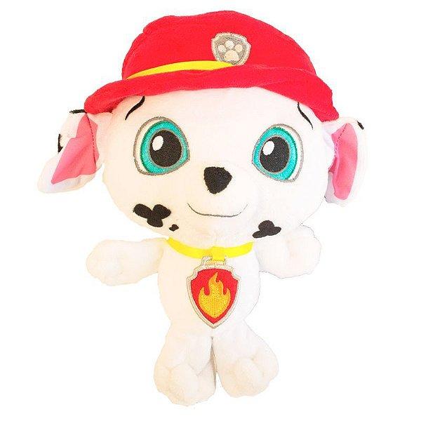 Patrulha Canina Baby Pelúcia 25 cm - Marshall