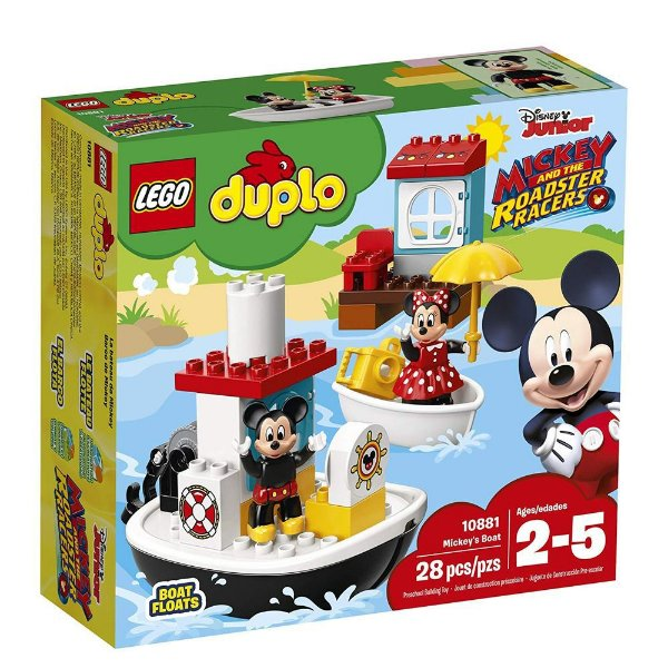 LEGO DUPLO - O Barco Do Mickey 10881