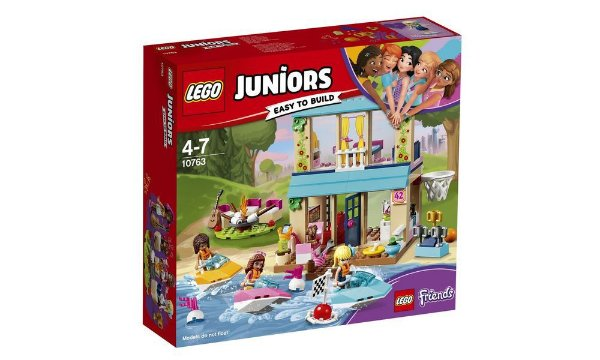 LEGO Juniors - A Casa Do Lago Da Stephanie 10763
