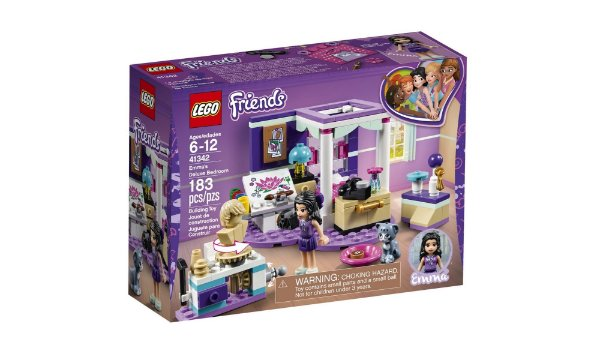 LEGO Friends - O Quarto Da Emma 41342