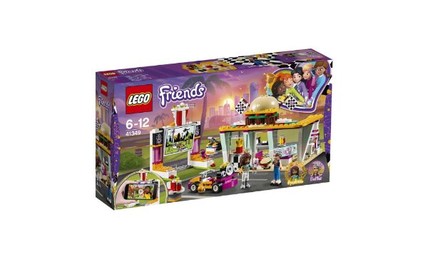 LEGO Friends - O Restaurante Com Cine Drive In 41349