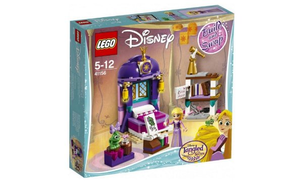 LEGO Disney - Quarto Do Castelo Da Rapunzel 41156