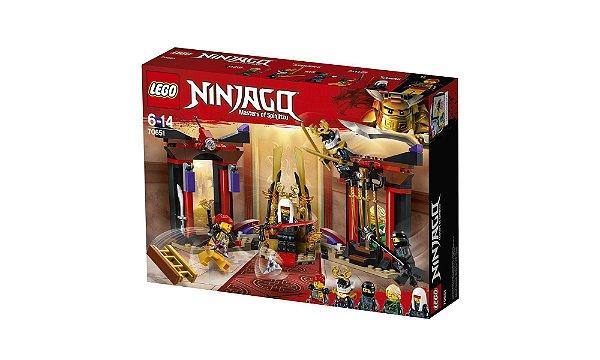 LEGO Ninjago - Confronto Na Sala Do Trono 70651