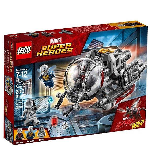 LEGO Super Heroes - Exploradores Do Reino Quântico 76109