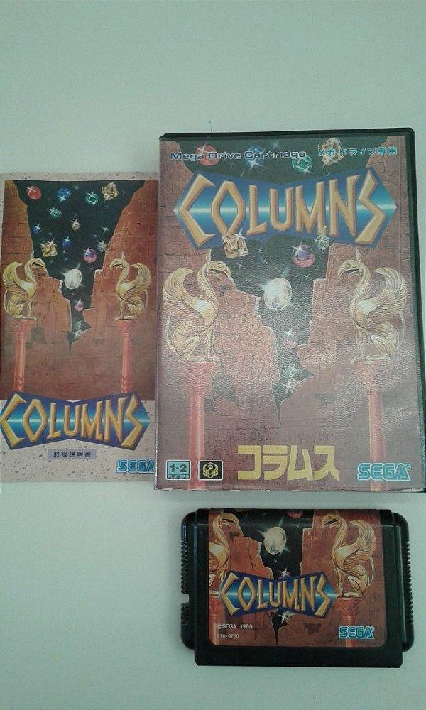 Game para Mega Drive - Columns Completo