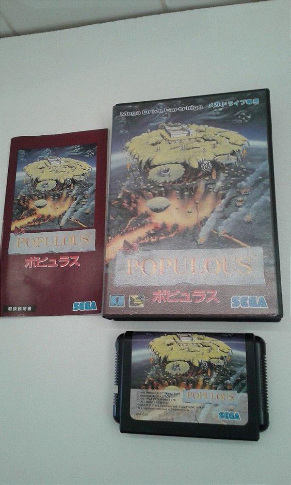 Game para Mega Drive - Populous