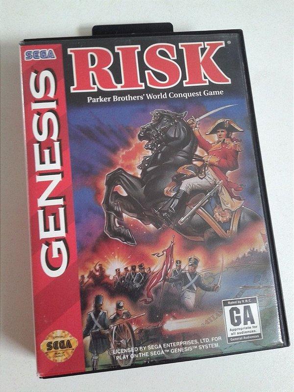 Game para Mega Drive - Risk