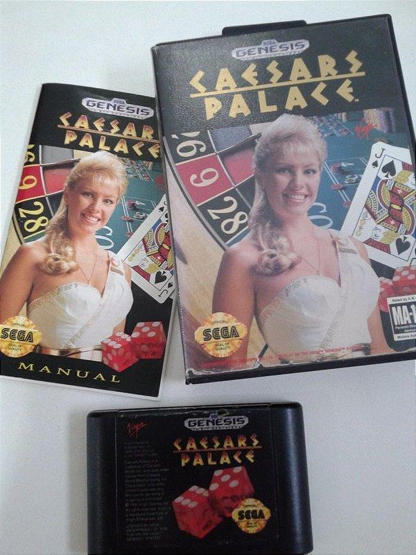 Game para Mega Drive - Caesars Palace