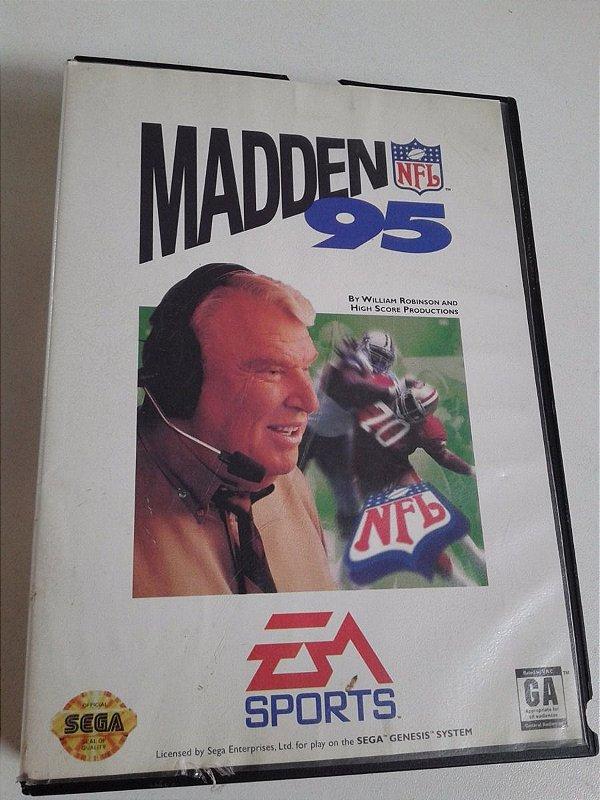 Game para Mega Drive - Madden NFL '95
