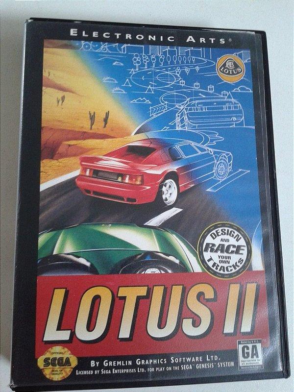 Game para Mega Drive - Lotus 2
