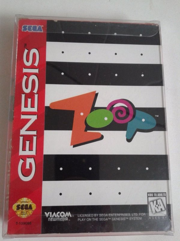 Game para Mega Drive - Zoop