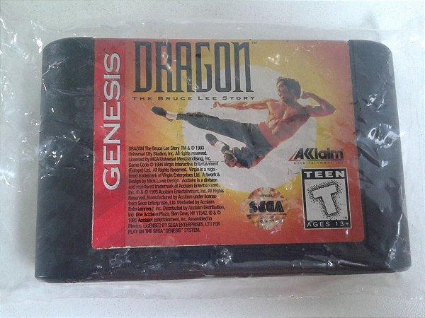 Game para Mega Drive - Dragon The Bruce Lee Story