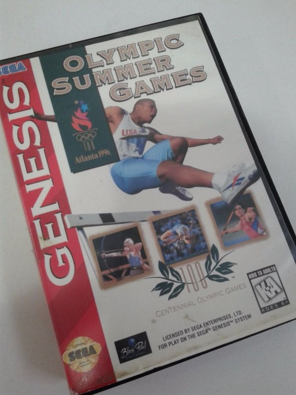 Game para Mega Drive - Olympic Summer Game paras