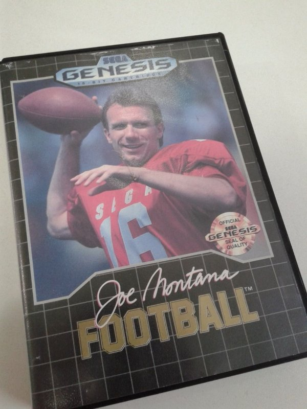 Game Mega Drive - Joe Montana Football