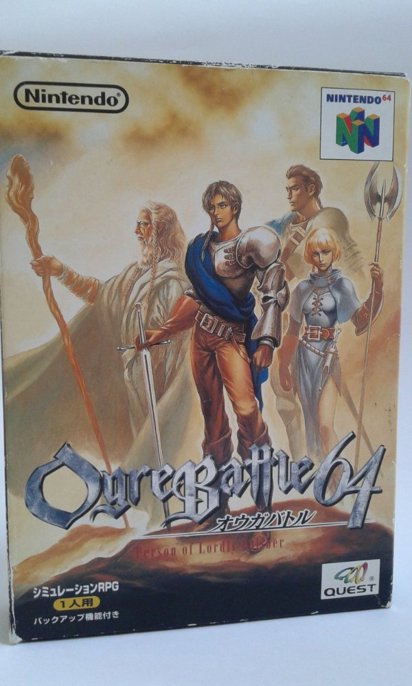 Game Para Nintendo 64 - Ogre Battle 64: Person of Lordly Caliber Completo NTSC-J