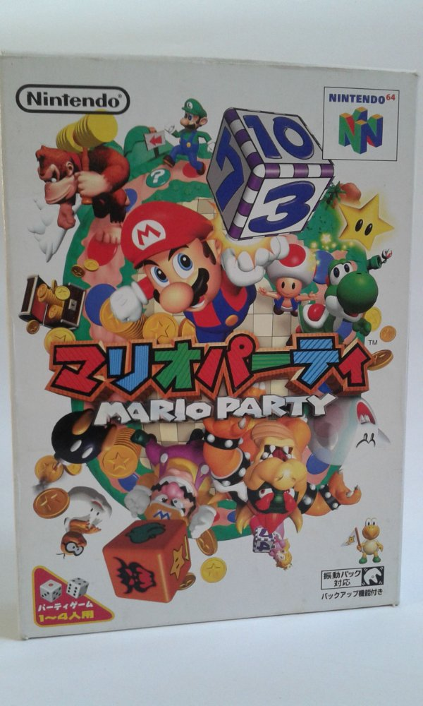 Game Para Nintendo 64 - Mario Party Completo NTSC-J