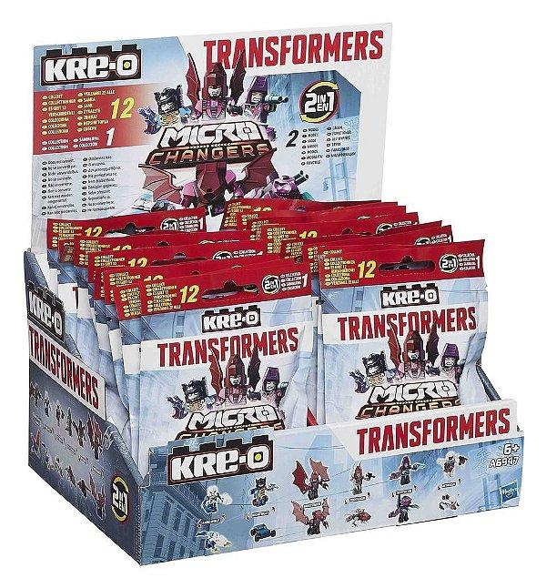 Kre-o Transformers Micro Changers Figura Surpresa Coleção Completa