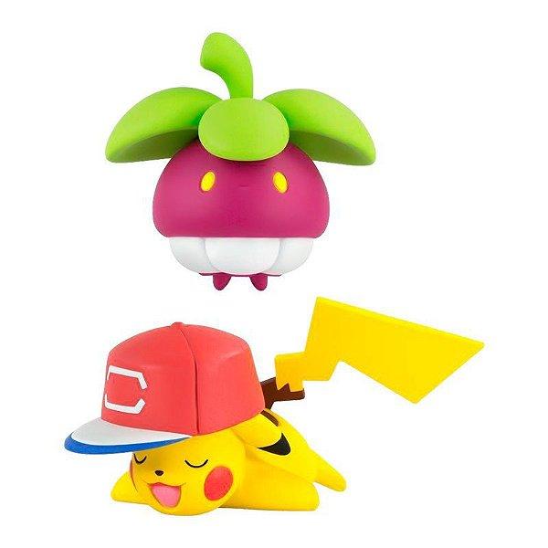 Pokémon Mini Figuras - Frubberl e Pikachu