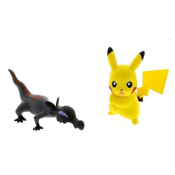 Pokémon Mini Figuras - Salandit e Pikachu