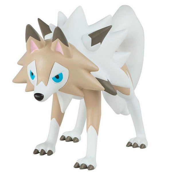 Pokémon Mini Figuras - Lycanroc