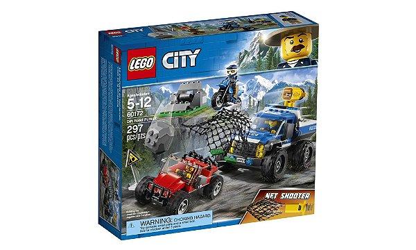 LEGO City - Perseguição em Terreno Acidentado 60172