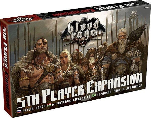 Jogo  Blood Rage - Expansão para 5 Jogadores