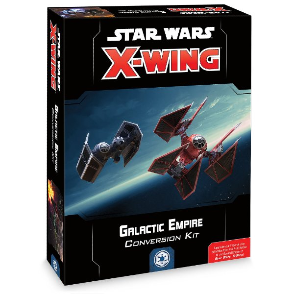 Jogo X-Wing Second Edition - Galactic Empire Conversion Kit