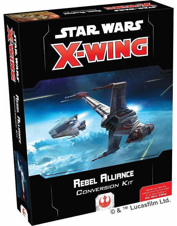 Jogo Star Wars X-Wing 2.0 - Kit de Conversão Aliança Rebelde