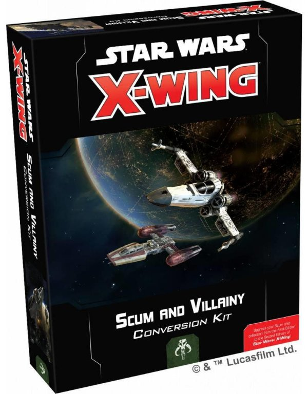 jogo X-Wing Second Edition - Scum and Villainy Conversion Kit