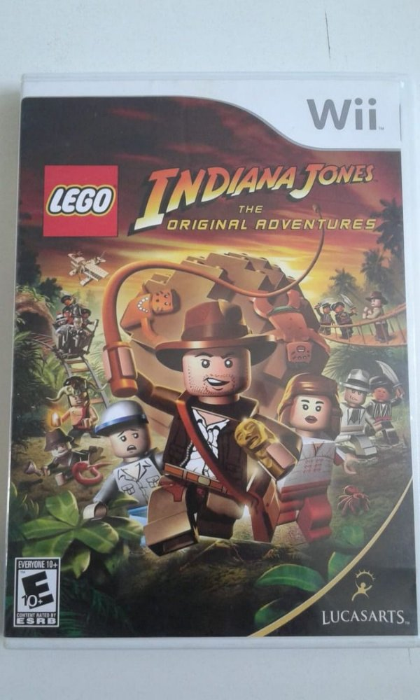 Game Nintendo Wii - Indiana Jones The Original Adventure NTSC/US